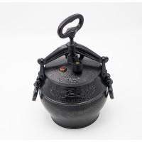 Афганский казан 15 литров черный с ручками фото - 3